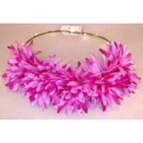 LED Bloemenkroon glow chrysant paars