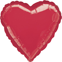 Folieballon Red Heart