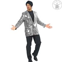Colbert pailletten zilver
