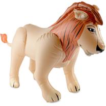 Opblaasbare leeuw