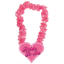 Hawai krans Roze Bride to Be