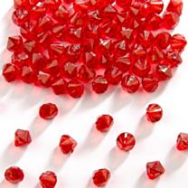 Tafel Diamanten Rood 9mm