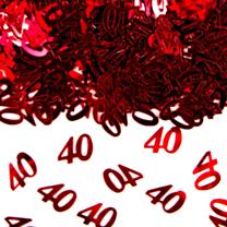 Tafeldeco/sier-confetti 40 Jubileum
