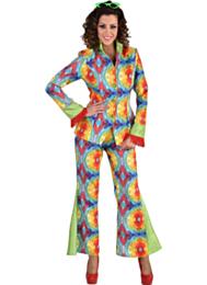 70's kostuum batik