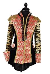Royal brocaat tijgerprint