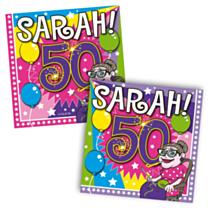 Servet Sarah Explosion 25x25cm