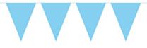 Vlaggenlijn Effen Baby Blauw 10mtr