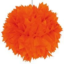 Pompom Oranje 30cm