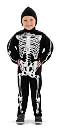 Kostuum Skeleton kindermaat M