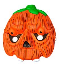 Masker Halloween Pumpkin kids