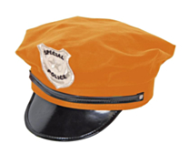 Politie Pet Neon Orange
