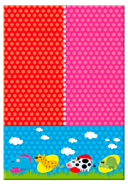 Tafelkleed Dieren 130x180cm