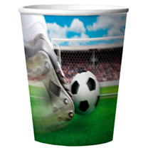 Bekers 3D Voetbal 266ml