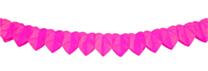 Mini Slinger Papier Roze Hart 2mtr