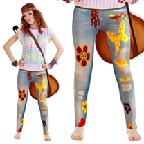 Flower Power Legging Dames