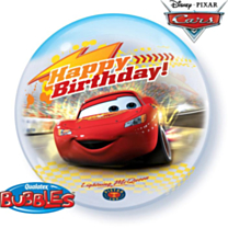 Bubble Ballon Cars HBday