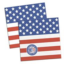 Servet USA Party 25x25cm