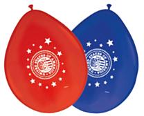 Ballonnen USA rood/blauw