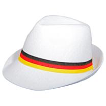 Tribly hoed wit met lint Duitsland