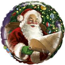 Folieballon Santa Classic
