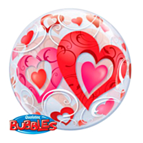 Bubble Ballon Hearts