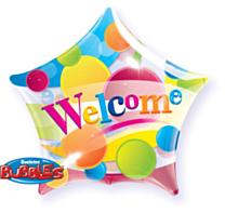 Bubble Ballon Star Welcome dots