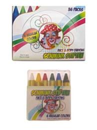Schminkstiften 6 reguliere kleuren in doos