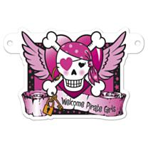 Banner Letter Pirate Girl