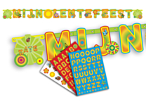 Letterslinger Lentefeest & Stickers