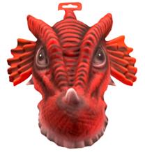 EVA Masker Rode Draak