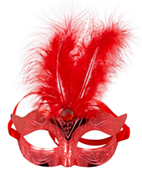 Masker Metallic Rood