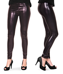 Legging Metallic Zwart S/M