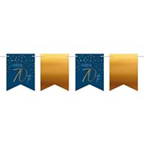 Vlaggenlijn Elegant True Blue 70 Jaar