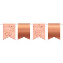 Vlaggenlijn Elegant Lush Blush 80 Jaar