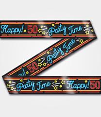 Neon Party tape 50 jaar