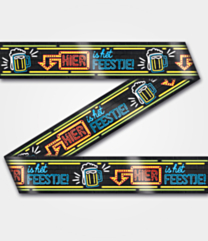 Neon Party tape Hier is het feestje