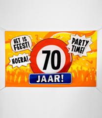XXL Gevel vlag - 70 jaar