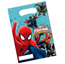 Feestzakje Spiderman Warriors