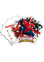 Uitnodiging Spiderman Warriors