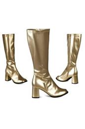 Laarzen retro goud 40