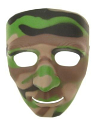 Masker camouflage luxe