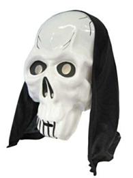 Masker dood + hoofddoek (Halloween)