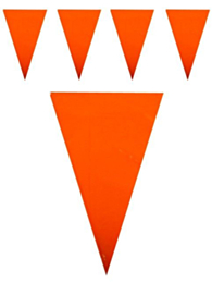 Vlaggenlijn oranje 10m