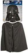 Darth Vader child cape and mask