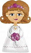 Folieballon Bride