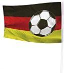 Gevelvlag Voetbal 100x150 Duitsland