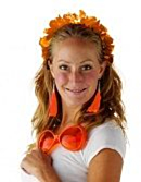 Tiara Hawaii Oranje