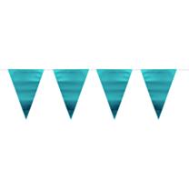 Vlaggenlijn metallic mat blauw 6m