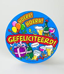 Bierviltjes - Gefeliciteerd