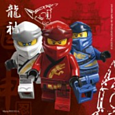 Lego Ninjago 20 2 laags servetten